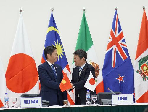 Bản tiếng Anh Hiệp định CPTPP: Danh mục các nghĩa vụ tạm hoãn thực thi của TPP