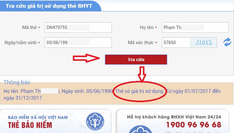 Chỉ cần 2 bước để xác định hạn sử dụng thẻ BHYT theo mẫu mới
