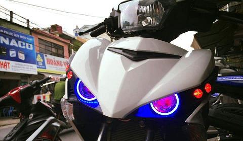 Xử phạt 06 trường hợp sử dụng đèn xe mô tô không đúng cách