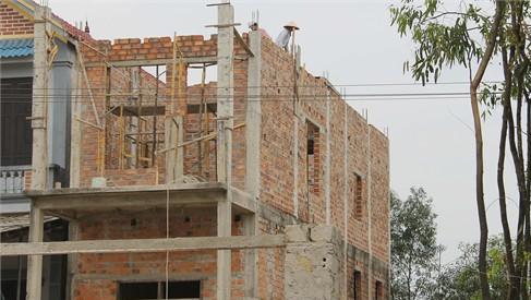 Thêm nhiều trường hợp xây nhà trái phép không phải nộp phạt